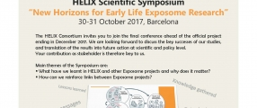 Invitation to the final HELIX Scientific Symposium